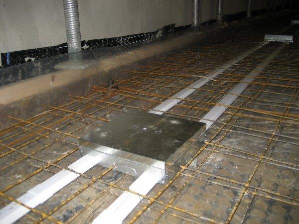 Electrical Floor Box Cast In Slab Mason Uk