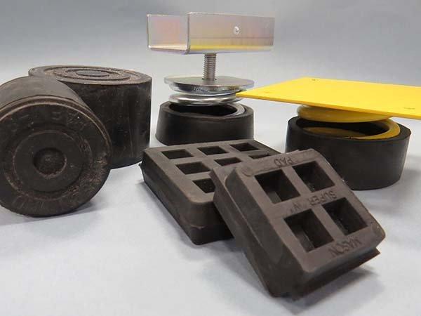 Lightweight Acoustic Floating Floor Mounts